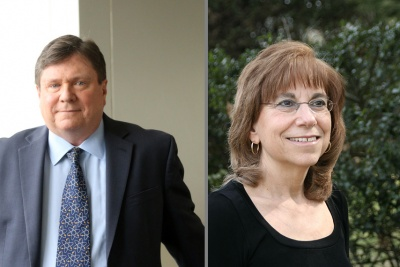 Jim Walsh and Carol Saivetz
