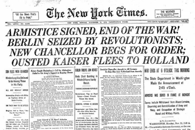 NY Times 11-11-1918